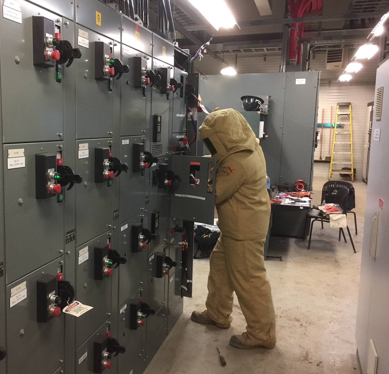 Electrician Safety, Arc Flash Protection Equipment