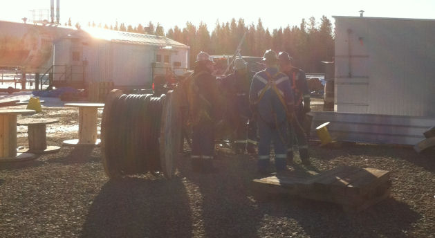 Electrical safety training teaches you to have a tailgate meeting before work starts.