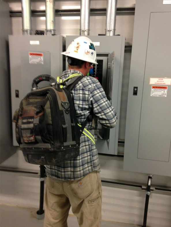 Electrical Tool Kit Backpack