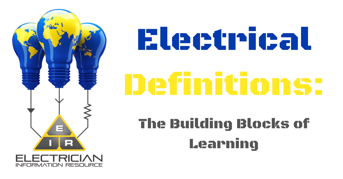 Electrical Definitions