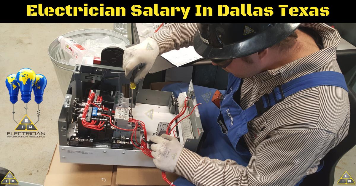 Electrician Salary in Dallas Texas