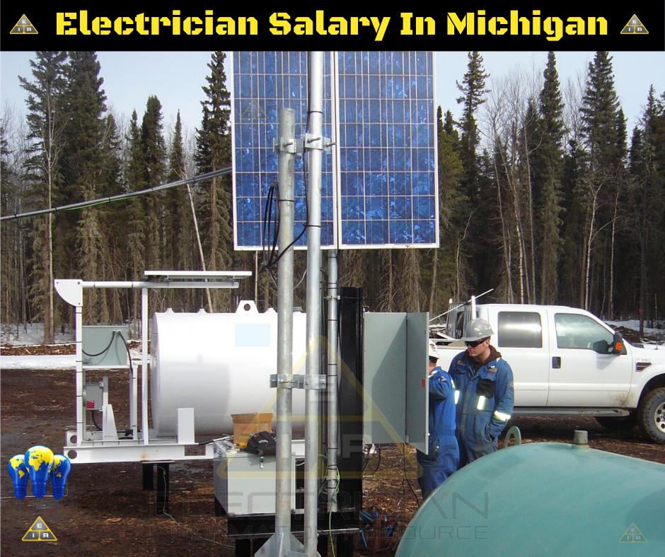 Electrician Salary in Michigan