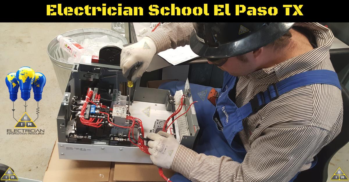 Electrician School El Paso TX