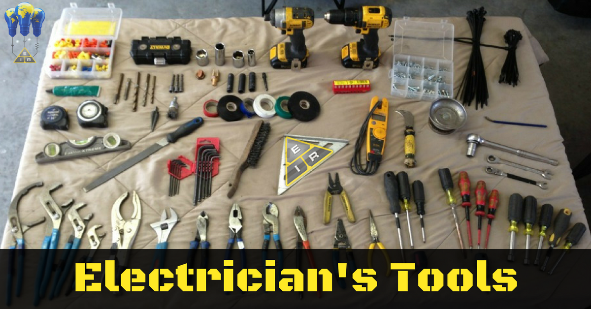 Electricians Tools Are The Foundation Of Their Career