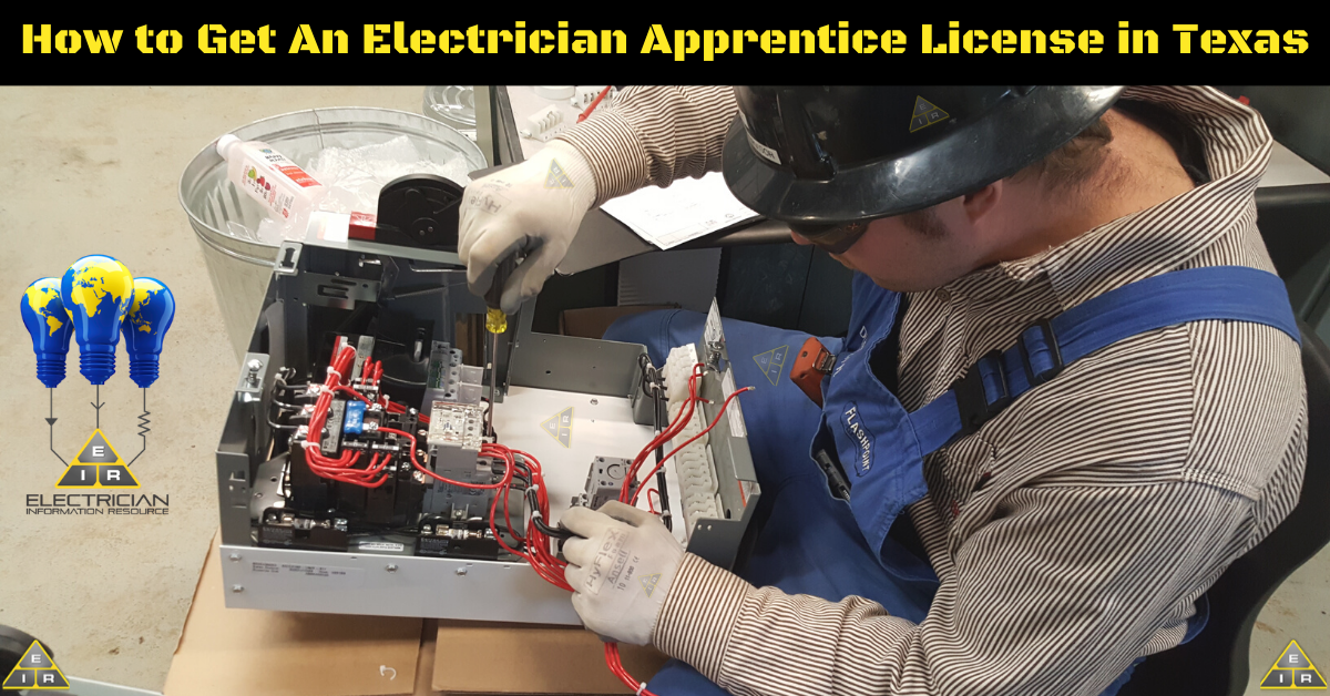 How to Get Electrician Apprentice License in Texas