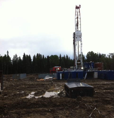 Now that looks fun! Oil drilling operations lead to demand for rig electrician work