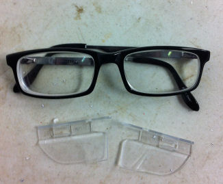 Safety Glasses Side Shields