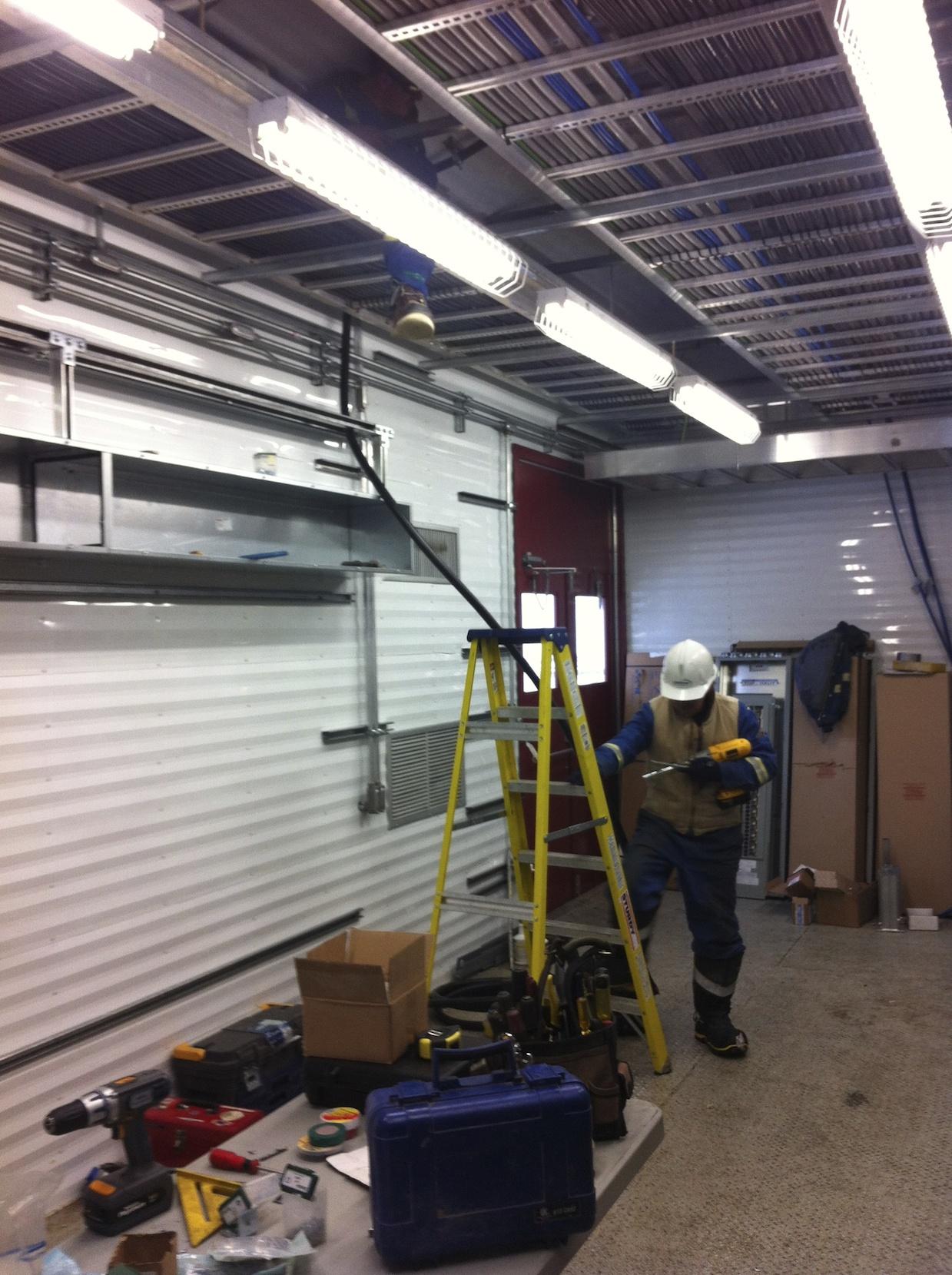 Always practice safety at work.