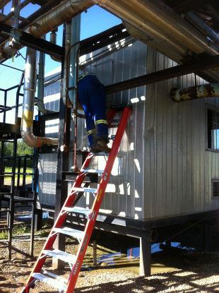 Always Follow Ladder Safety