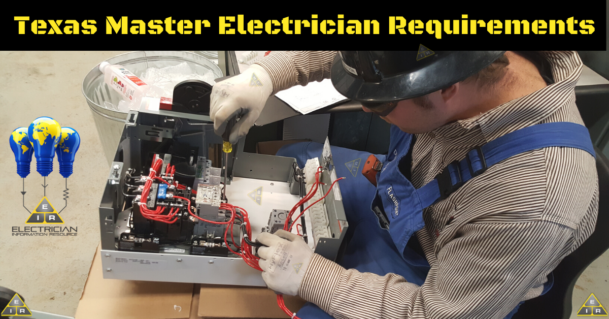Texas Master Electrician Requirements