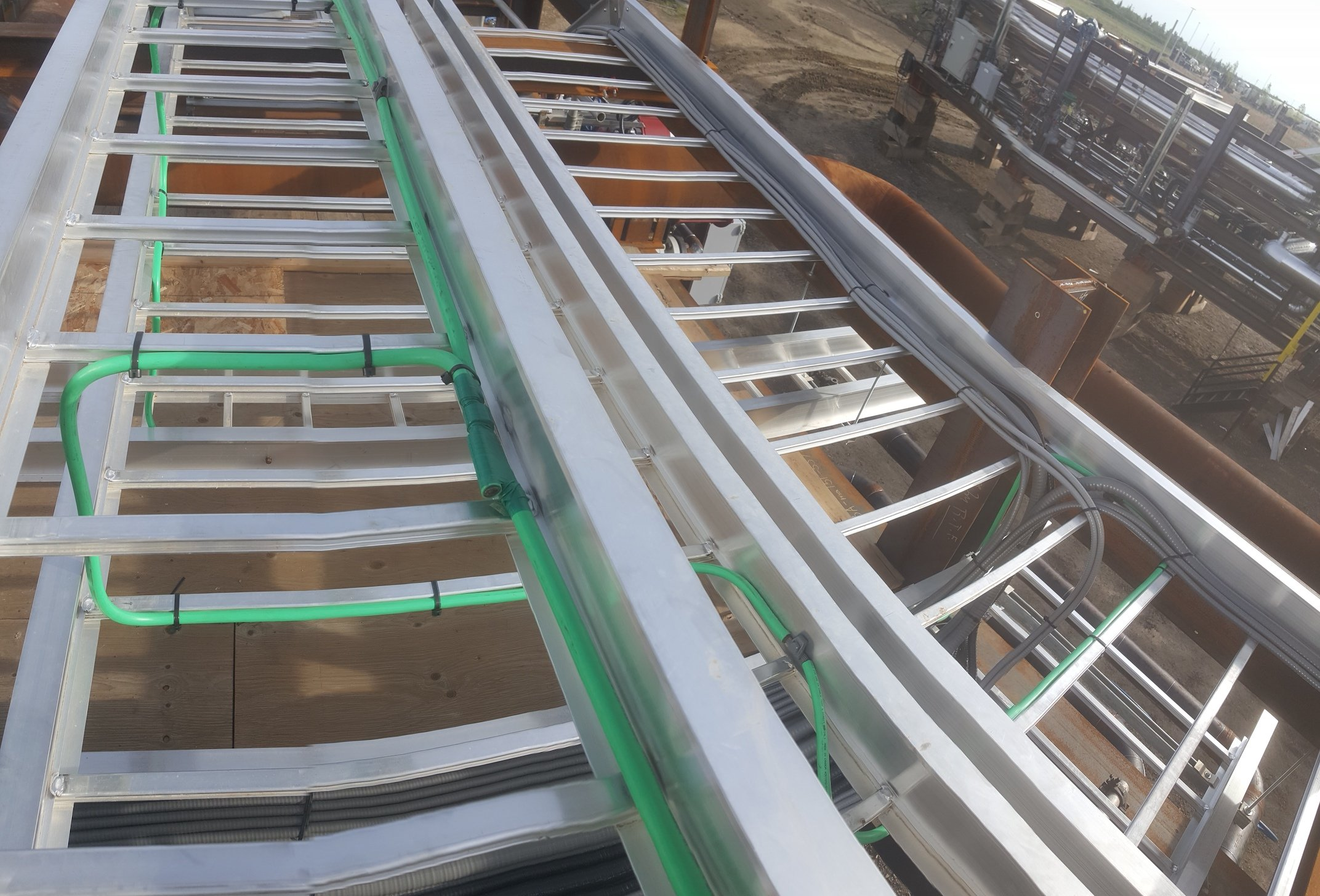 Electrical Bonding Cable Tray
