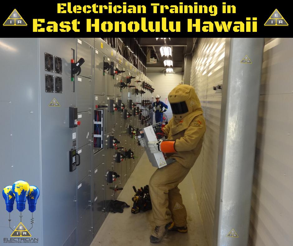 Electrician Training in East Honolulu Hawaii