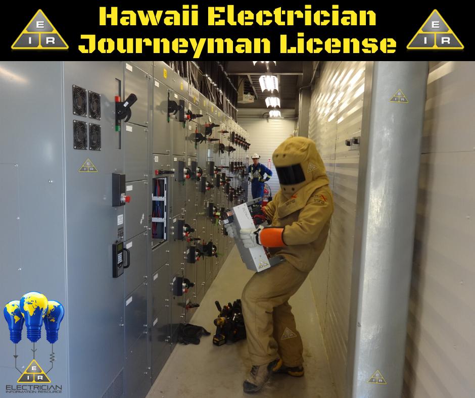 Hawaii Electrician Journeyman License