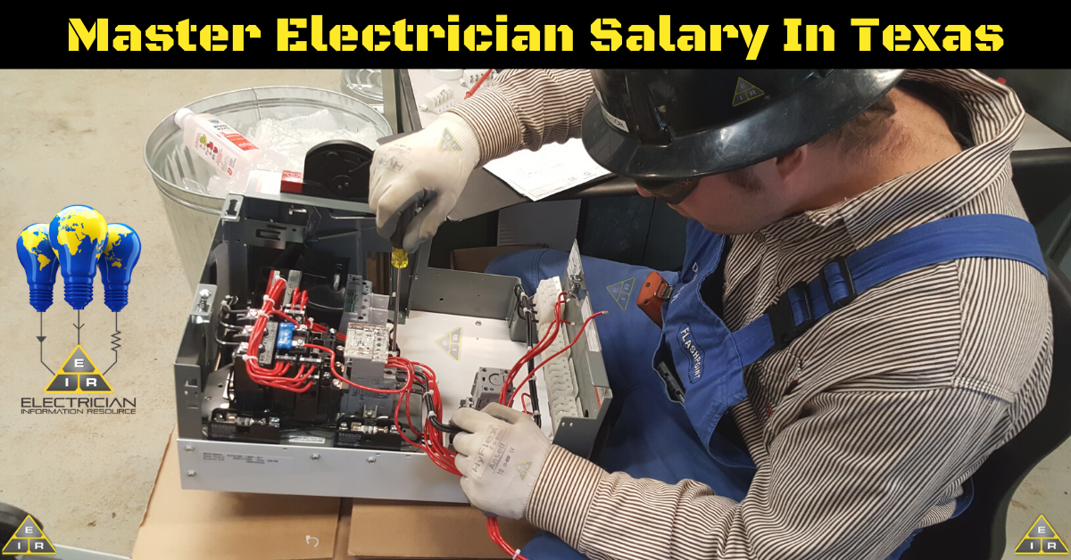 Master Electrician Salary Texas
