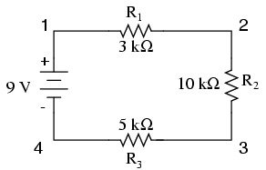 Be careful when applying Ohm's Law to a series and parallel circuit